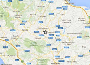Ben 16 scosse di terremoto nel Molise